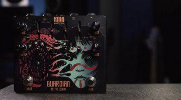 KMA Machines Guardian Of The Wurm Effekt Pedal Front