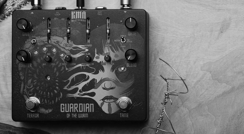 KMA Machines Guardian Of The Wurm Effekt Pedal Stacheldraht