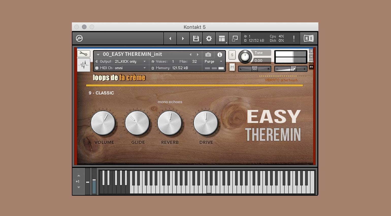 Loops de la Crème Easy Theremin