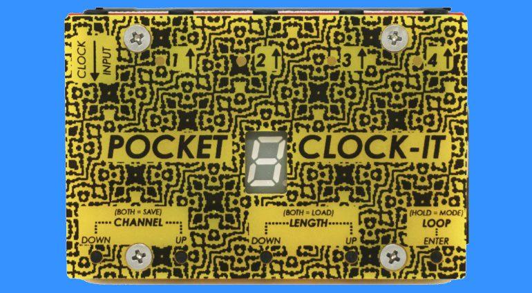 Moffenzeef Pocket Clock-It