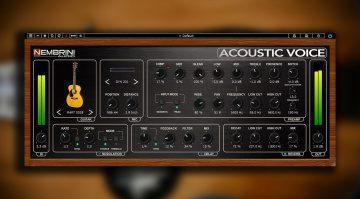 Nembrini Audio Acoustic Voice: ein Pre-Amp Plug-in für die Akustikgitarre