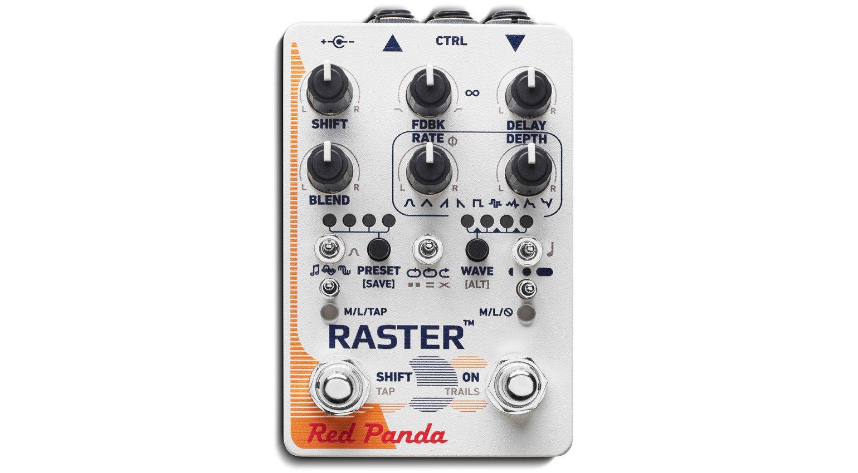 Red Panda Raster 2 Delay Effekt Pedal Front