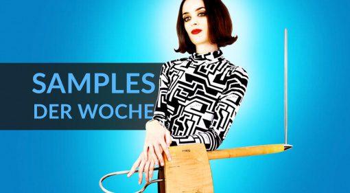 Samples der Woche: Tangent Drum, Easy Theremin, Minpops Snacks und mehr