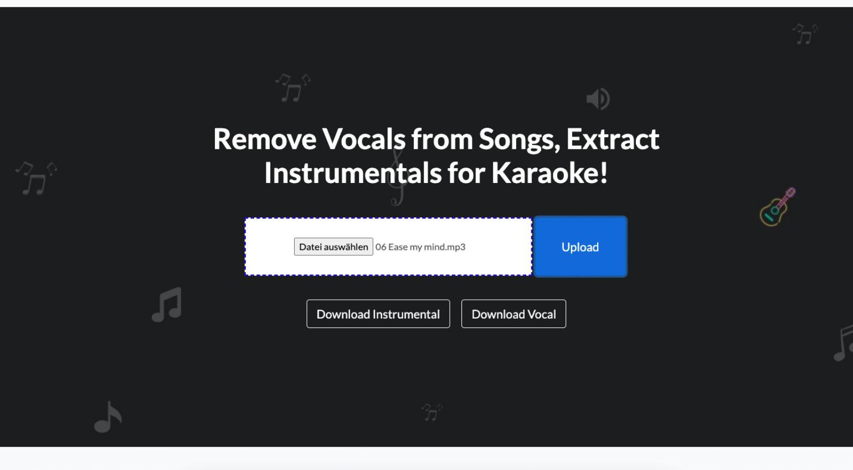 Vocals und Musik trennen: Die besten Webseiten mit KI-Unterstützung