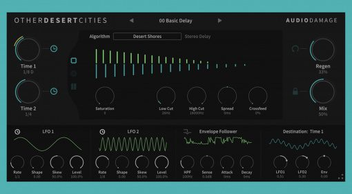 Audio Damage Other Desert Cities