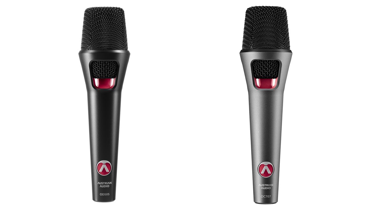 Austrian Audio OD505 und OC707
