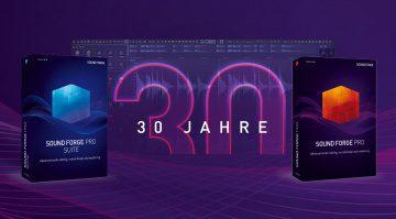 Deal: Magix Sound Forge Pro 15 und Suite zum Jubiläumsangebot mit 30 % Rabatt
