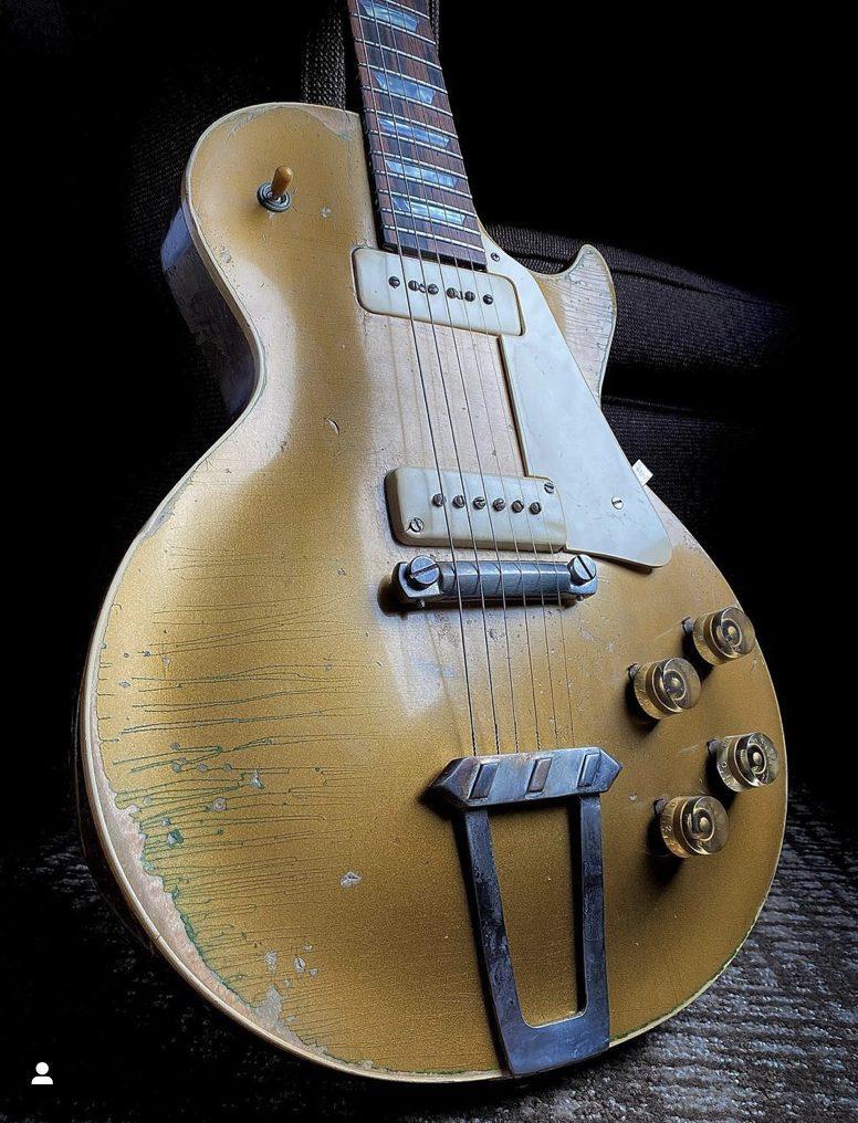 Gibson 1952 Goldtop Tornado Restauration JAred James Nichols 3