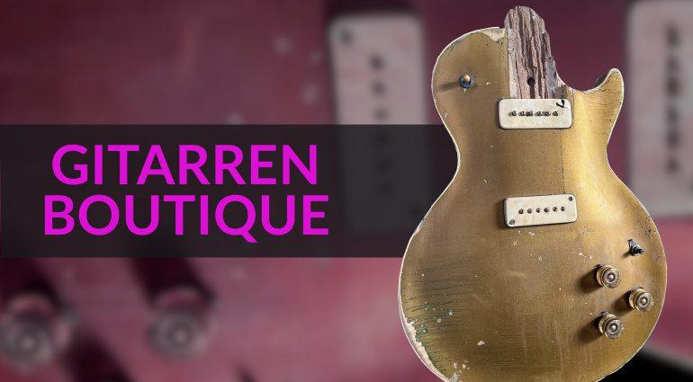 Gitarren Boutique Gibson 1952 Goldtop Tornado Les Paul