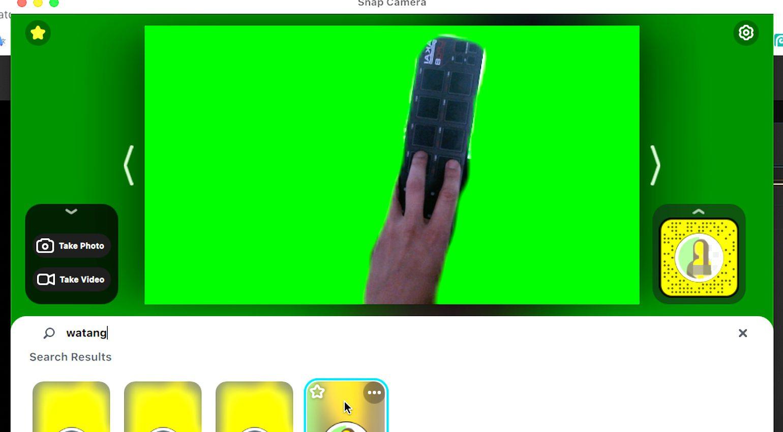 Videostreaming Greenscreen
