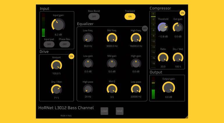 HoRNet L3012 Bass Channel: ein kompletter Channelstrip für eure Basslines