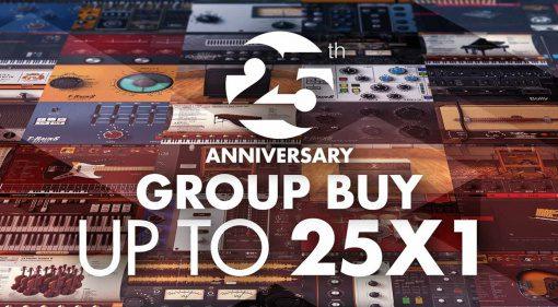 Deal: IK Multimedia feiert 25-Jähriges und startet große Group-Buy-Aktion!