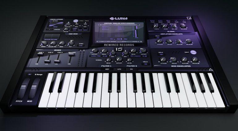 Infected-Sounds Lun4: ein EDM Synthesizer für Windows
