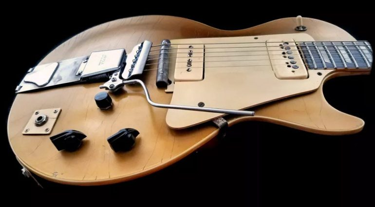 Les Pauls Gibson 1952 Les Paul Number One