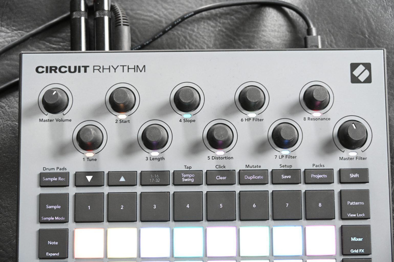 Novation Circuit Rhythm Knöpfe