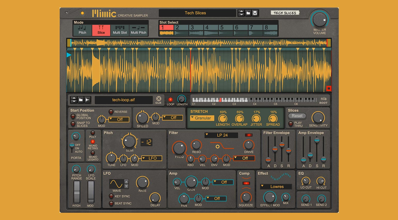 Reason Studios Mimic Creative Sampler