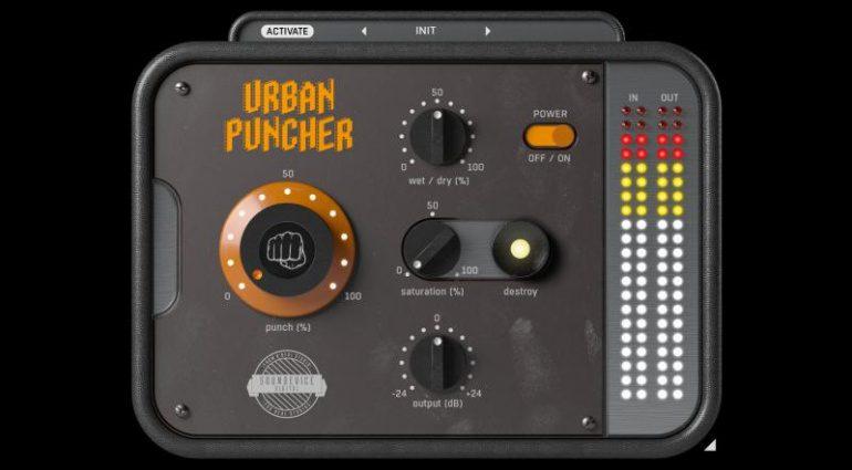 United Plugins Urban Puncher: Drum Loop mit mehr Punch und 68% Rabatt!