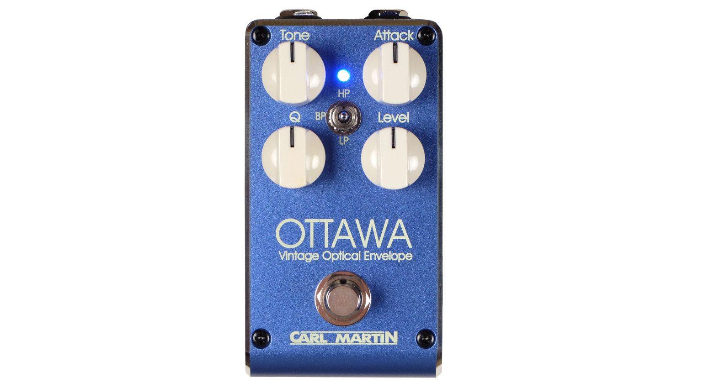Carl Martin Ottawa Auto WAh Effekt Pedal Top
