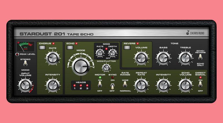 Cherry Audio Stardust 201: Und noch eine Roland Space Echo Emulation?