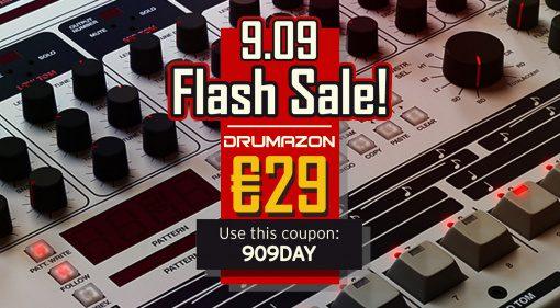 Deal: D16 Group Drumazon zum 909-Day für 29 Euro im Flash Sale!
