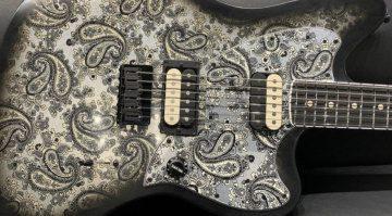Fender Jim Root Black Paisley Jazzmaster Signature Body