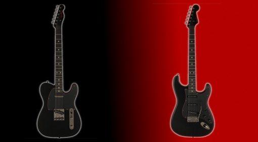 Fender Noir 2021 Telecaster Stratocaster