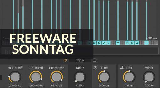 Freeware Sonntag: Analog, DelayArchitect und 808-ROMpler