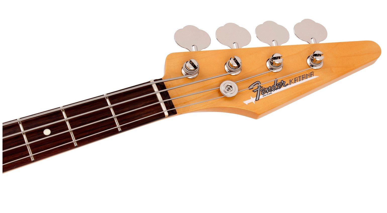 Hama Okamoto Fender Katana Bass Headstock
