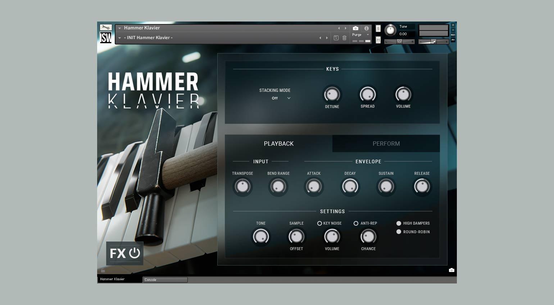 Impact Soundworks Hammer Klavier
