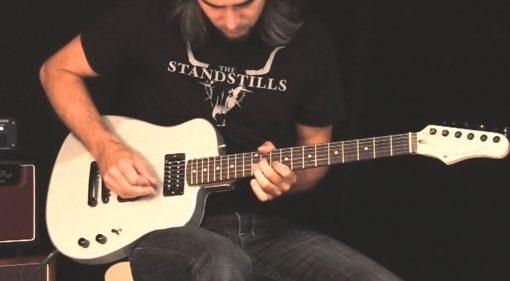 Instrumental Aluminium Gitarre Teaser