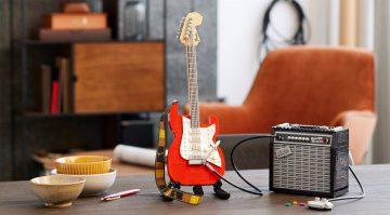 Lego Stratocaster Teaser