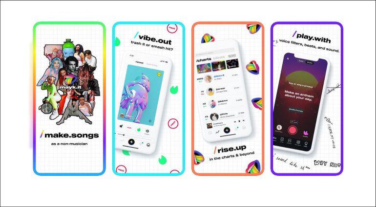 Mayk.it: App zum Musikmachen für Nichtmusiker