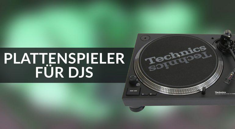 Plattenspieler für DJS