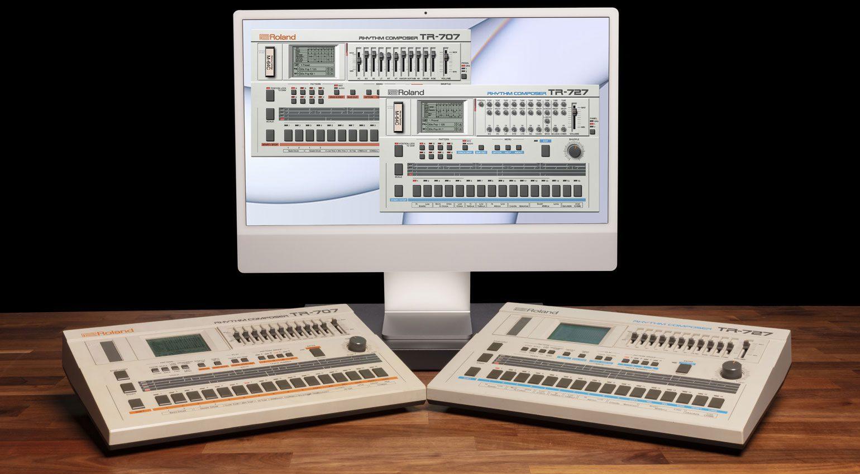 Roland TR-707 TR-727 Software Rhythm Composers