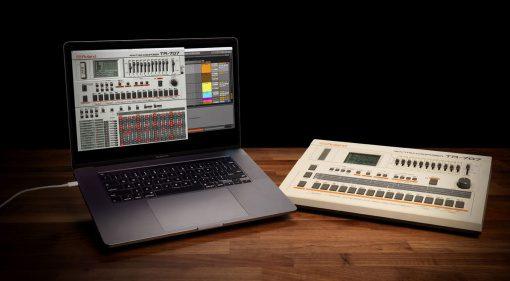 Roland TR-707 und TR-727 Software Rhythm Composer