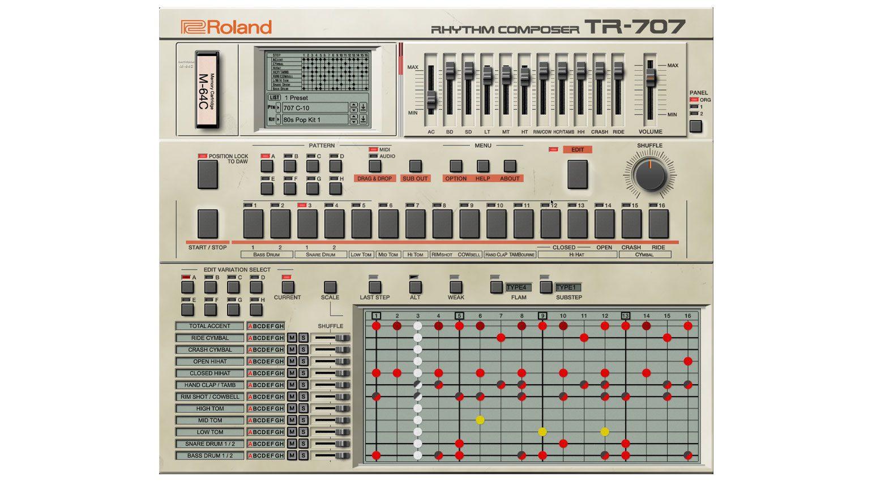 TR-707 Plug-in