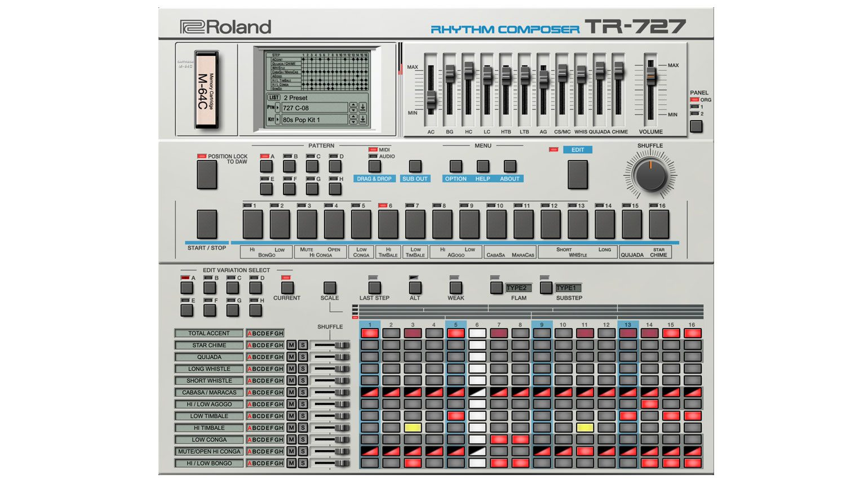 TR-727 Plug-in