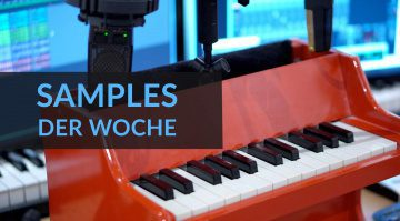 Samples der Woche: Berlin Orchestra - Created with Berklee, Bunker Strings Vol. 2, Piano Toy, SP 909