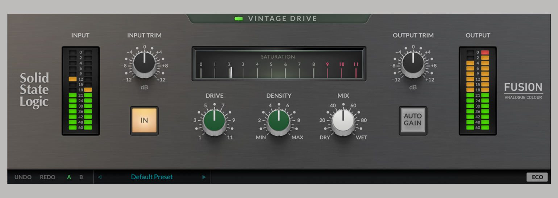 SSL Fusion Vintage Drive