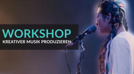 Workshop: So könnt ihr kreativer Musik produzieren