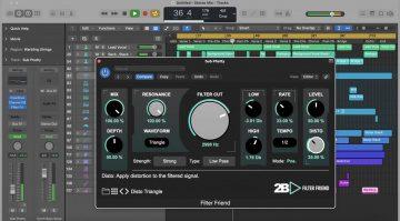 2B Played Filter Friend: Kreatives Filter-Plug-in mit Distortion und Sync für unter 20 €