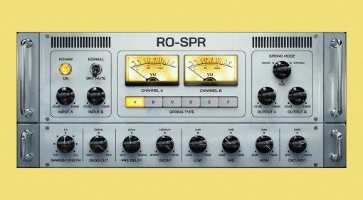 Black Rooster Audio RO-SPR: ein Vintage Spring Reverb inklusive 6 Typen