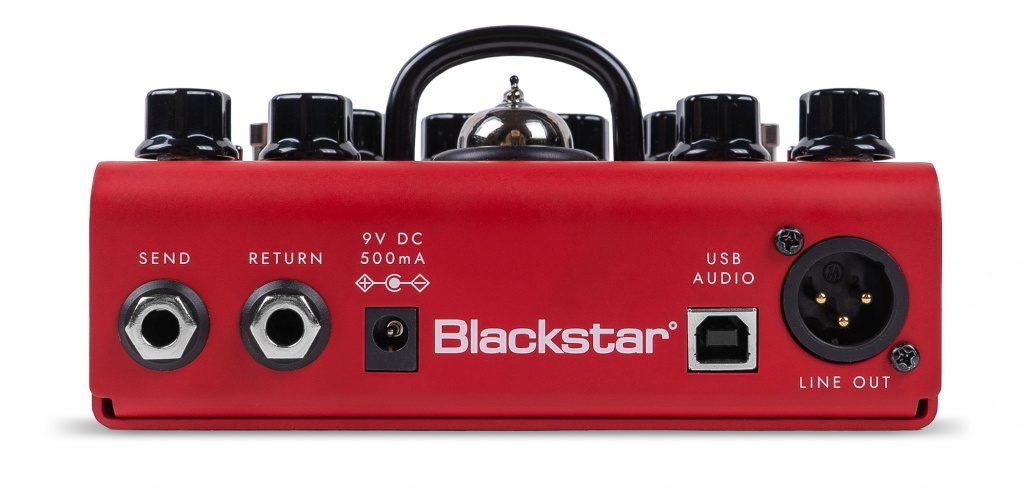 Traumhaft: 9V, XLR- & USB-Out, FX-Loop!