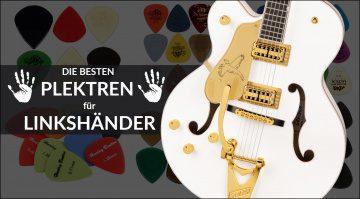 Die besten Plektren E-Gitarren für Linkshänder 2
