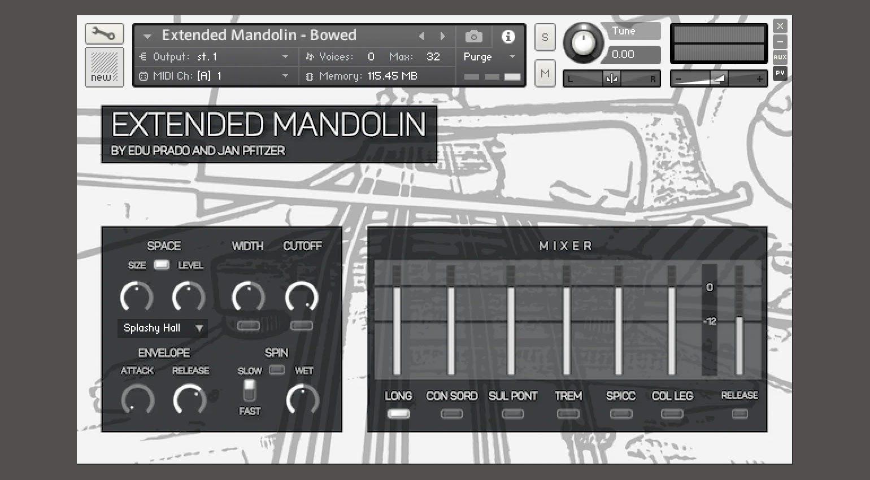 Edu Prado Sounds Extended Mandolin