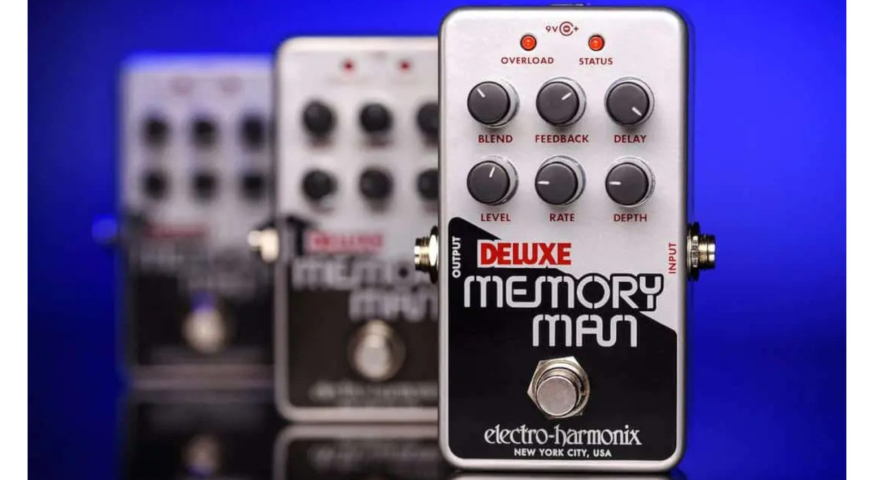 Electro Harmonix Nano Deluxe Memory Man Delay Chorus Effekt Pedal