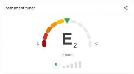 Google Guitar Tuner Teaser