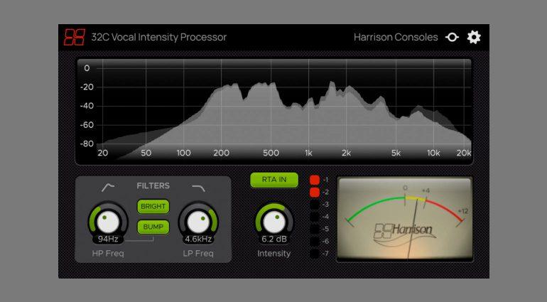 Harrison 32C Vocal Intensity Processor