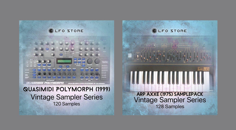 LFO Store Quasimidi Polymorph und ARP Axxe Sample Packs