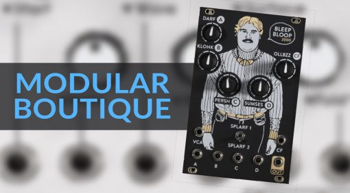 Modular Boutique Post-Superbooth